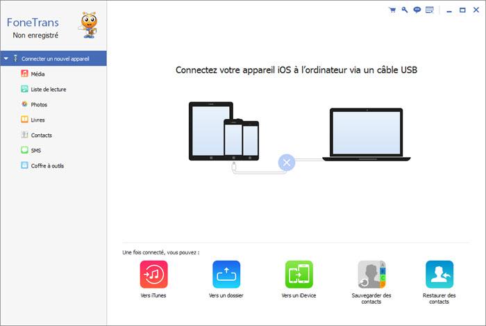 برنامج iPhone Transfer بديل الآيتونز