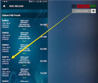 Cara Isi Pulsa Paket Nelpon Telkomsel 2100 Menit gunakan kode produk yang sesuai dengan harga hasil pengecekan sistem