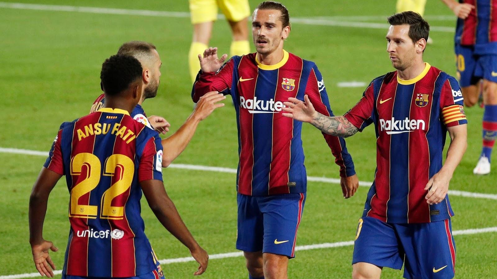 Barcelona Sevilla LaLiga Santander