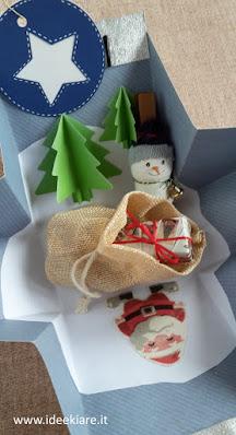 Sacchetto a sorpresa natalizio