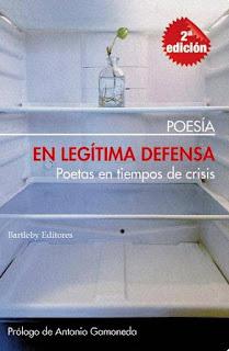 En legítima defensa. Poetas en tiempos de crisis