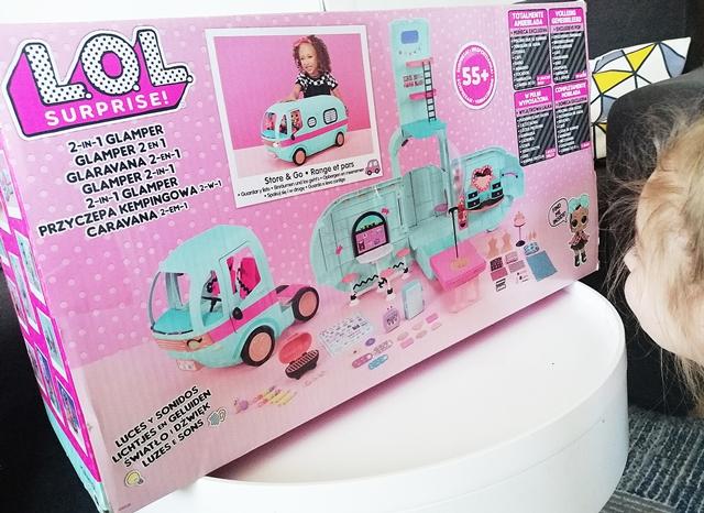 L.O.L. Surprise Glamper Kamper / przyczepa kempingowa 2w1 dla dziewczynki