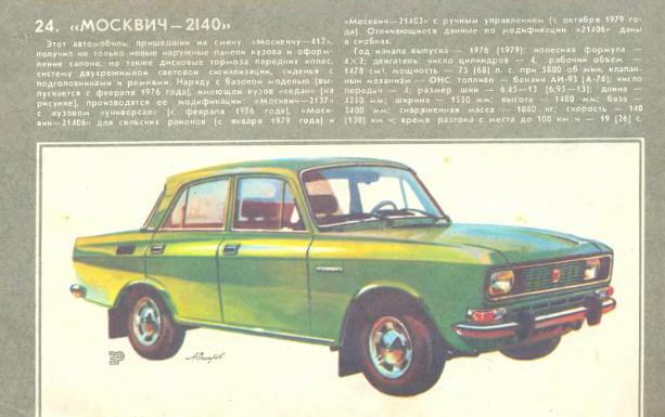 """""""За рулем"""", 1980 год"""