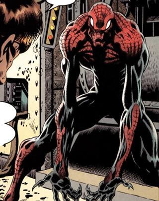 Versión monstruosa de Spiderman