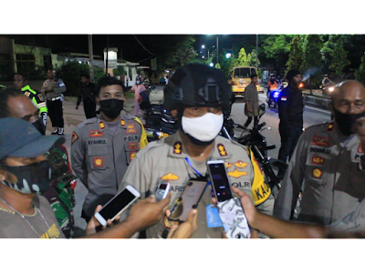 Kapolres Maluku Tenggara AKBP Alfaris Pattiwael SH. S.Ik., MH.