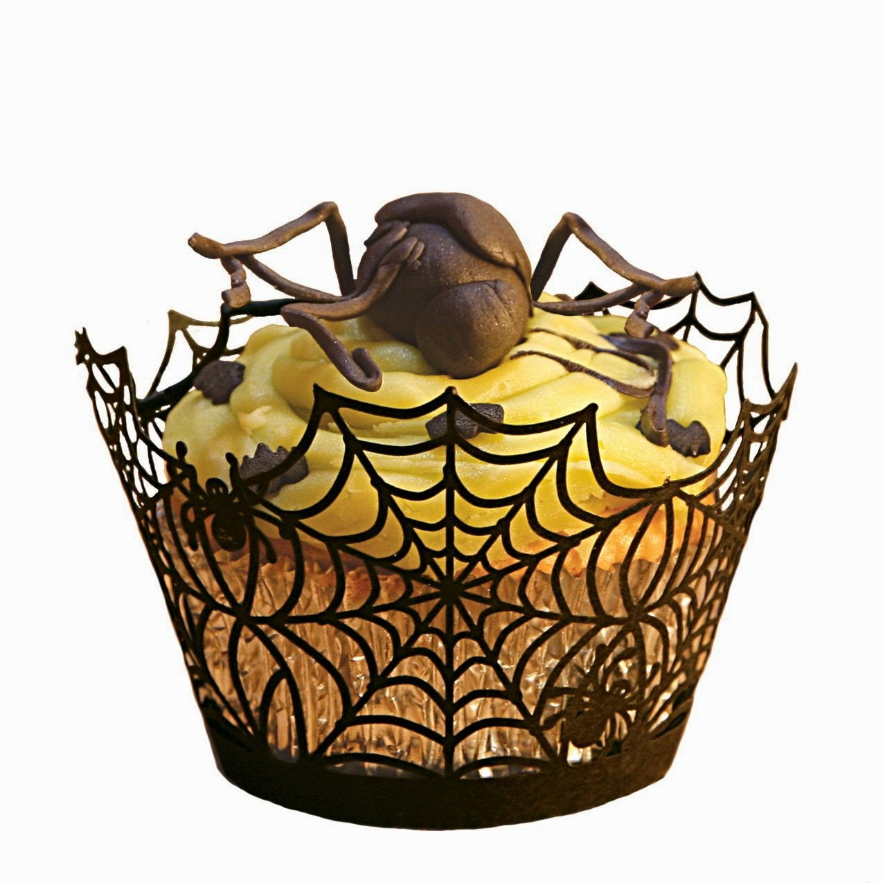 Spider Web Halloween Cupcakes Ideas