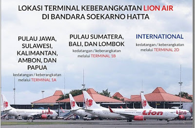 Lion Air Terminal Berapa