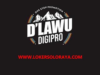 Lowongan Kerja Sukoharjo Markom dan Admin Marketing di D'lawu Digipro