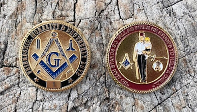 Masonic Shriner Limited Edition Challenge Coin