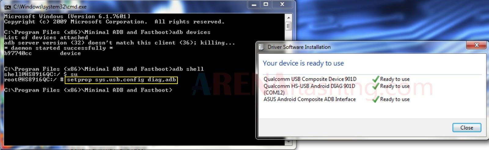 Tutorial Write IMEI Andromax R (I46D1G) Setelah Unlock GSM 4G