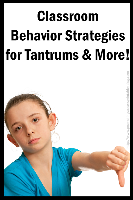 behavior management in the classroom student special education