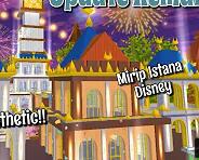 ID Dekorasi Istana Disney Di Sakura School Simulator