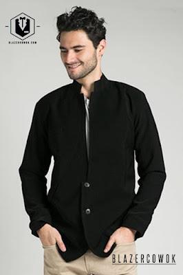blazer cowok blazercowok.com jaket korean jas pria sk11 1