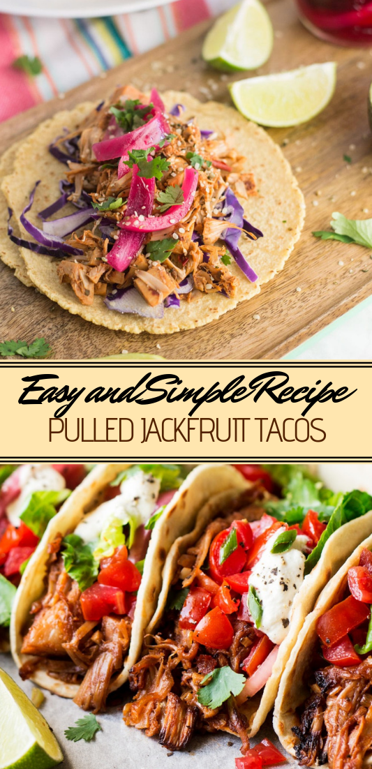 PULLED JACKFRUIT TACOS #vegan #vegetarian #soup #breakfast #lunch