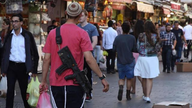 Otros 40 000 israelíes tendrán licencia de portar armas de fuego