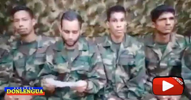 Militares malandros secuestrados en Apure envían un nuevo mensaje en video