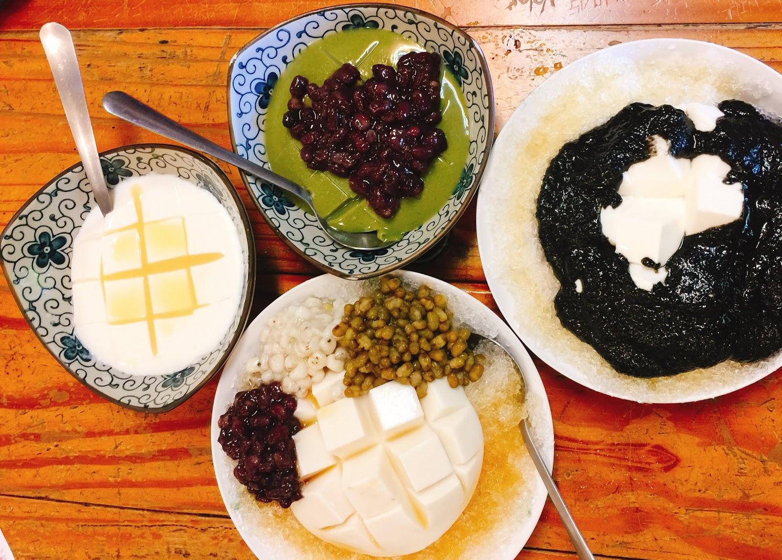 台南中西區甜點五妃廟杏仁豆腐冰懷舊小棧