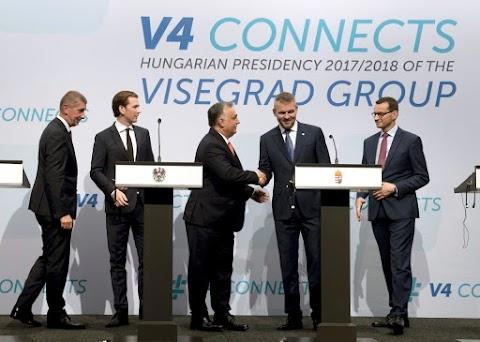 Dinamizálta a V4 együttműködését a magyar elnökség