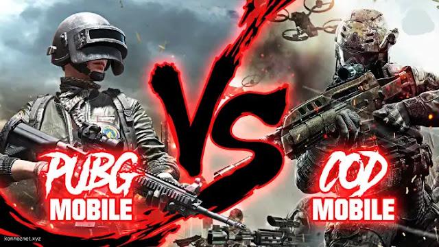 مقارنة بين Pubg Mobile vs Call Of Duty Mobile أيهما أفضل