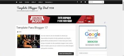 Template para Blog Layout e Temas para Blogger