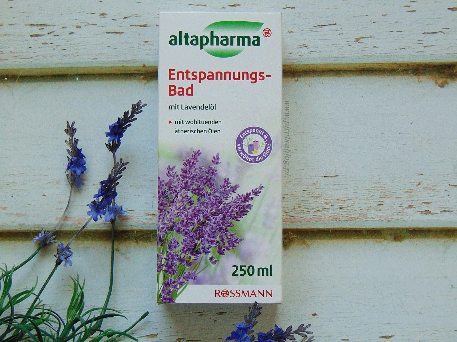 Altapharma, płyn relaksujący do kąpieli 'lawenda'