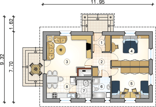A home plan has more than one task of showing how the home design looks like and how the end result of the house will look like. When designing your own house, you come with the expectation of it being the perfect home of your dreams.   Use these 3 house plans and layouts for inspiration as you are planning features you would like in your own new home.