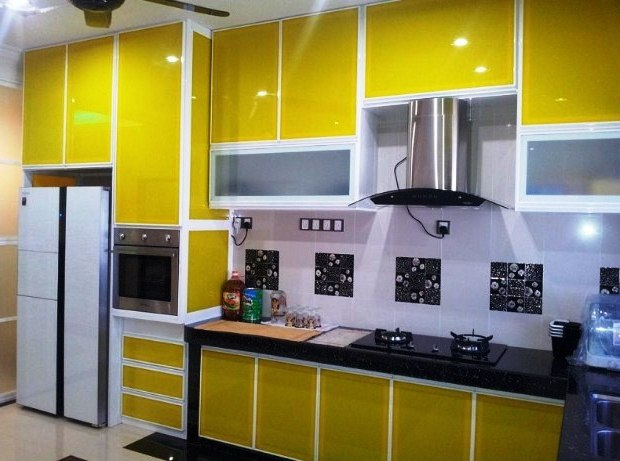 Gambar Kabinet Dapur Modern Cantik Elegan