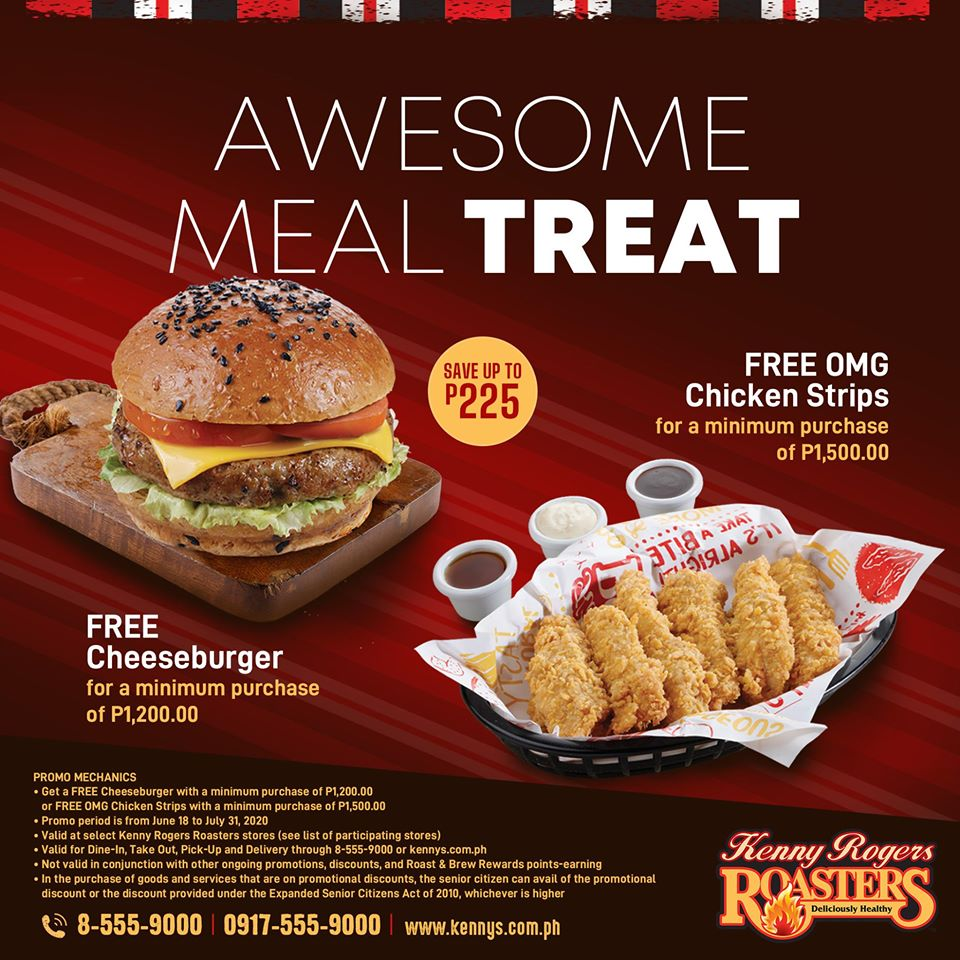 Manila Shopper Kenny Rogers Awesome Meal Treat Promo July 2020