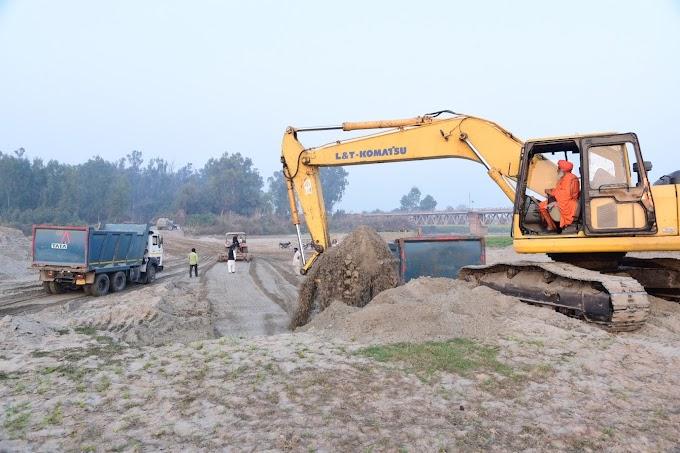 2nd round of karsewa to clean the bottom of Sutlej river starts:- Sant Seechewal