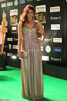 Telugu Actress Aarthi in Deep Neck Backless Golden Gown at IIFA Utsavam Awards 2017 Exclusive 29.JPG