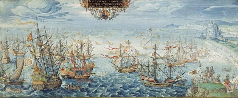 Imparare Con La Storia La Disfatta Dell Invincibile Armata 1588