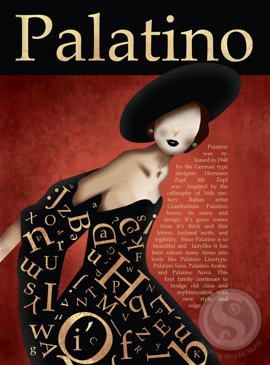 KaraKreative Typeface Review Palatino