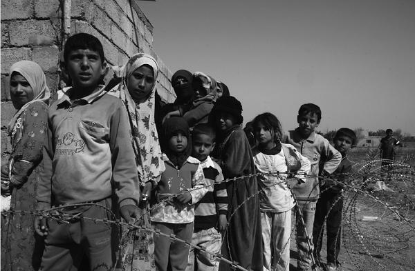 Wajah-wajah anak korban perang