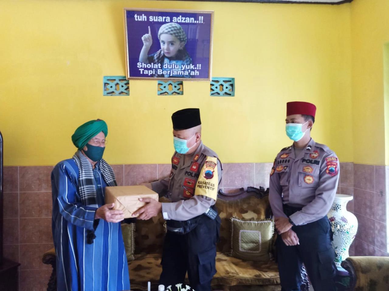 Polres Kebumen Jalin Komunikasi Aktif dengan Tokoh Masyarakat