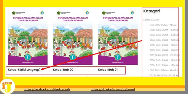 Cendekia Kemenag Kumpulan Buku PAI-BP Terbaru