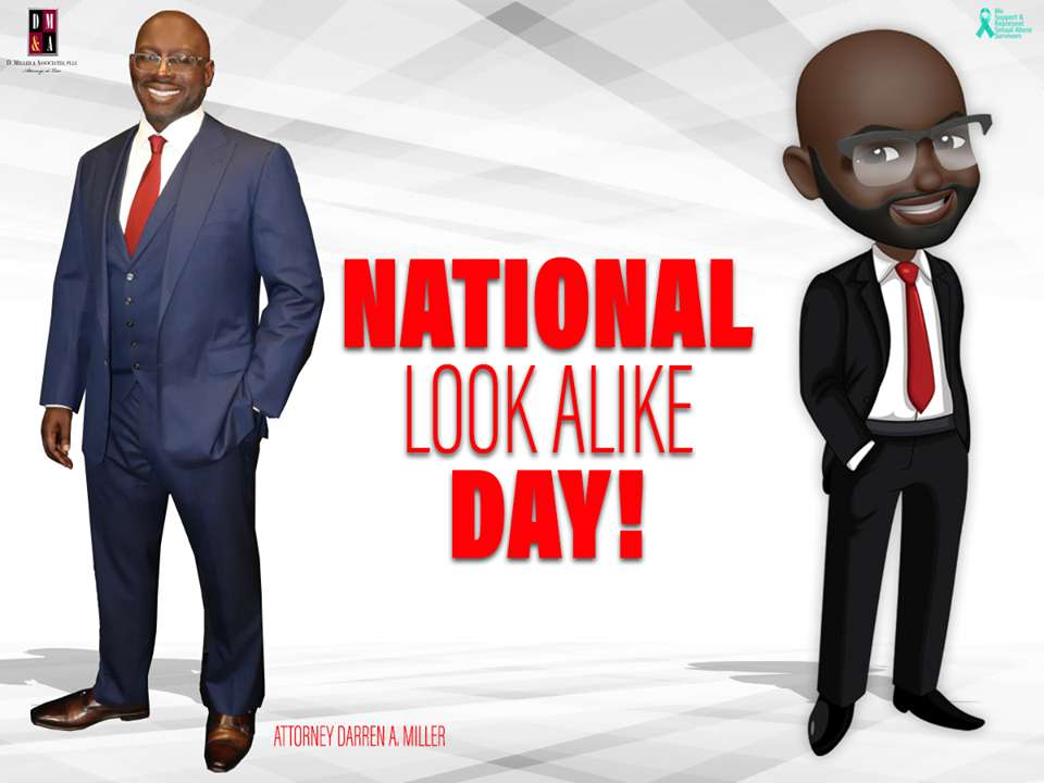 National Look-Alike Day Wishes Awesome Images, Pictures, Photos, Wallpapers