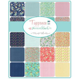 Moda Tuppence Fabric by Shannon Gillman Orr for Moda Fabrics