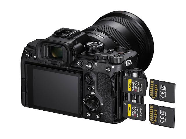 【攝影情報】Sony a7S III 重磅登場後,同場加映 CFExpress Type A 記憶卡 - Sony a7S III 同時兼容 CFExpress Type A 及 SD 記憶卡