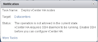 vCenter 6.5 High Availability - Possible Configuration Issues