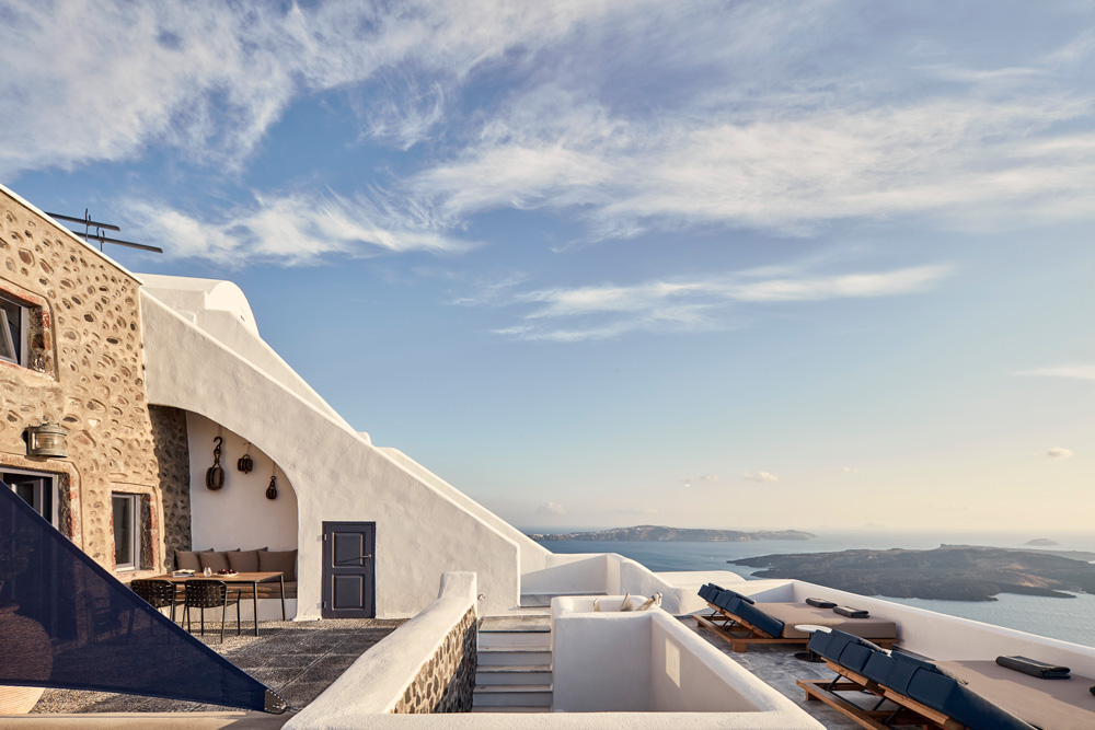 Homeric Poems Hotel in Santorini by Interior Design Laboratorium