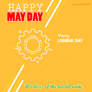 happy labour day mayday greetings
