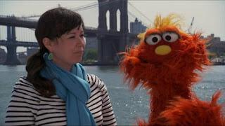 Murray What's the Word on the Street Splatter, Sesame Street Episode 4316 Finishing the Splat season 43