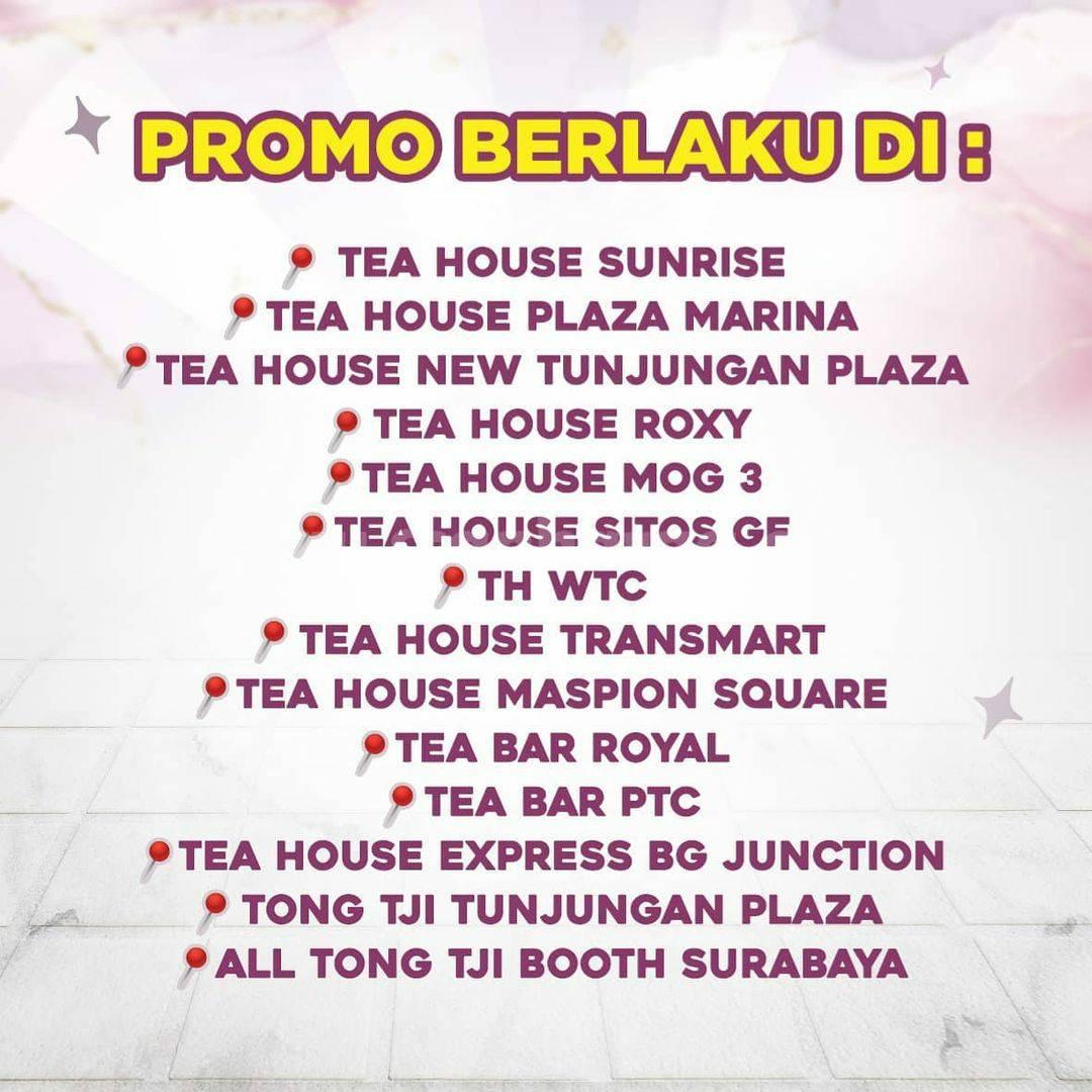 TONG TJI Promo Beli 1 Gratis 1 untuk Taro Milk Tea
