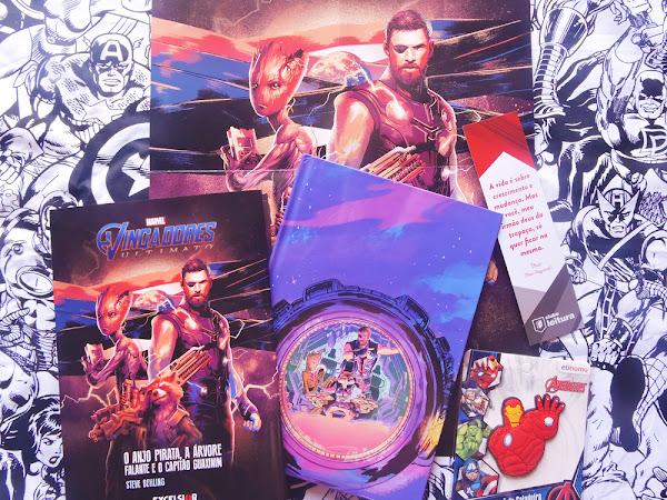 Clube Leitura Marvel #09, assinatura exclusiva dos livros Marvel!