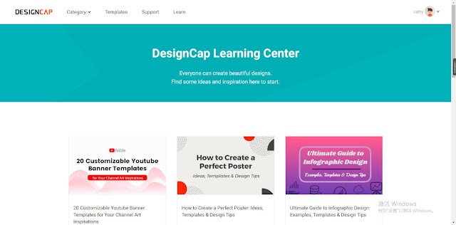 DesignCap is designed to save you time