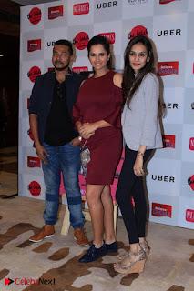 Indian Tennis Star Sania Mirza Pos in Red Short Dress at  0017.jpg