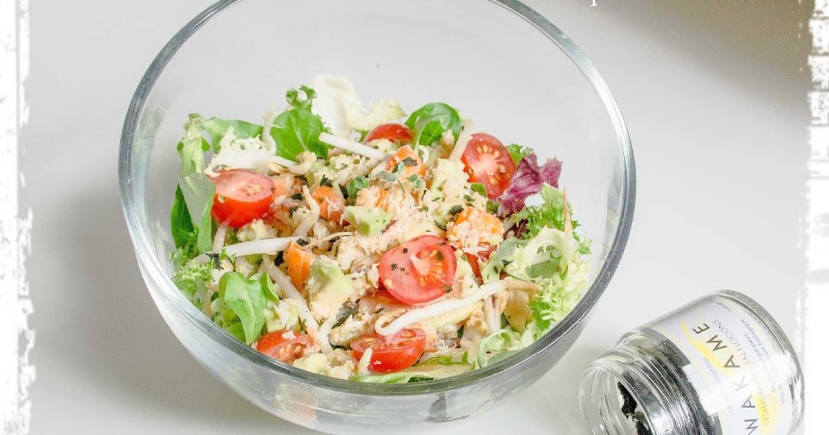 popote et nature une salade de crabe croquante au l ger parfum iod. Black Bedroom Furniture Sets. Home Design Ideas