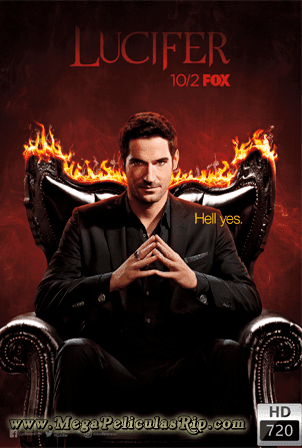 Lucifer Temporada 3 [720p] [Latino-Ingles] [MEGA]