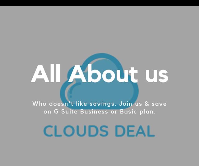About us Cloudsdeal.com