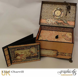 A Ladies Diary Memory Box Clare Charvil Graphic 45